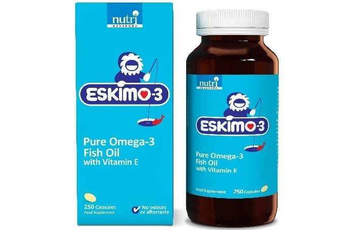 Eskimo 3 Fiskeolie - Bedste Test og anmeldelse 2018