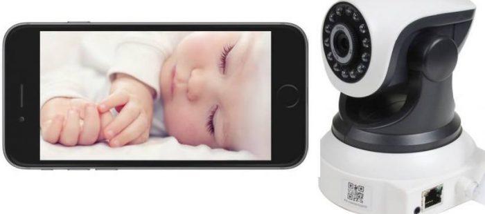 babyalarm med kamera