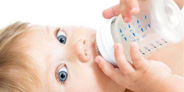 modermælkserstatning hård mave