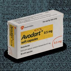 avodart forstørret prostata