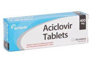 medicin mod forkølelsessår