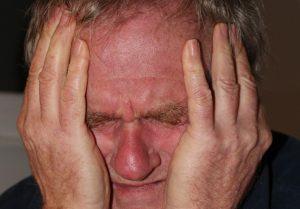 hovedpine i tindingen