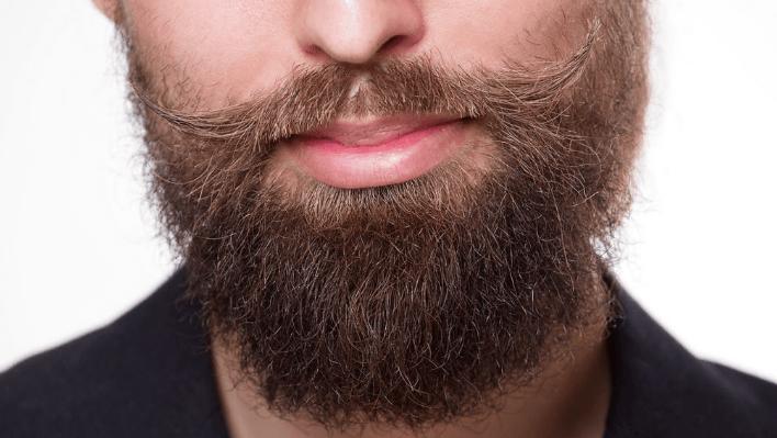 kløe i skægget er irriterende