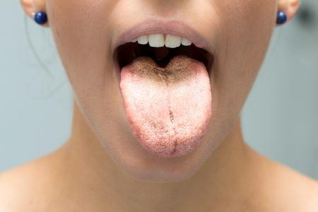 svamp i munden
