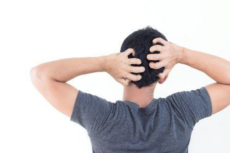tør hovedbund