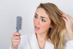 tab af hår