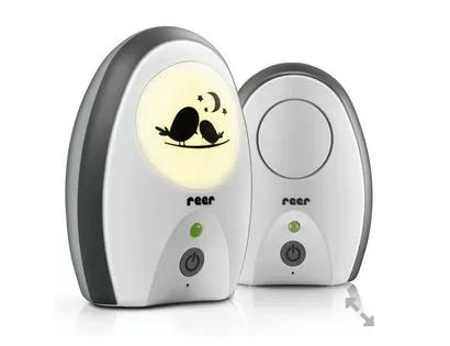 reer babyalarm med lys og tale