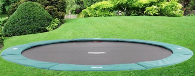 trampolin til nedgravning guide